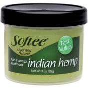 Softee Indian Hemp Hair & Scalp Treatment, 90ml
