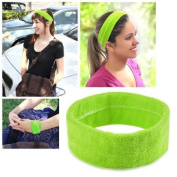 Zodaca Green Fashion Yoga Elastic Headband Head Hair Band Women Ladies Girl Accessories Sport
