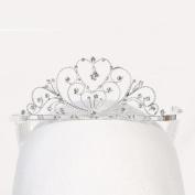 Angels Garment Girls Silver Rhinestones Royal Special Occasion Tiara