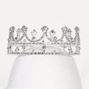 Angels Garment Girls Silver Rhinestone Queen Special Occasion Tiara