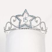 Angels Garment Girls Silver Teal Princess Quinceanera Tiara Headpiece