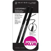 Maybelline Unstoppable Eyeliner, 2ct