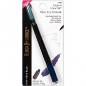 Black Radiance Urban Identity Dual Eye Definer, CA9003 Navy/Sky Blue, 0ml