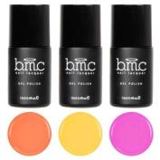 BMC Super Cute 3pc Mosaic Glass Sheer Tints UV/LED Soak Off Gel Polish - Set 2