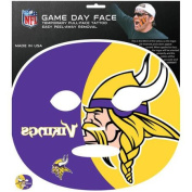 NFL Minnesota Vikings Game Day Face Temporary Tattoo