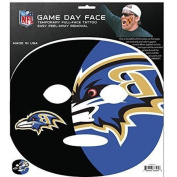 NFL Baltimore Ravens Game Day Face Temporary Tattoo