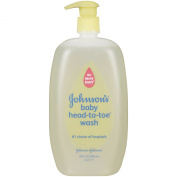 Johnson's Head-to-Toe Baby Wash and Baby Lotion Variety Pack, 1270ml