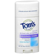 Tom's of Maine Natural Deodorant Stick, Unscented 70ml