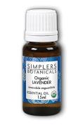 Essential Oil Lavender Organic Simplers Botanicals 15 ml Liquid