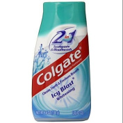 Colgate 2-in-1 Toothpaste & Mouthwash, Whitening Icy Blast, 140ml Tube