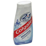 Colgate 2 in 1 Toothpaste & Mouthwash, Whitening - 140ml