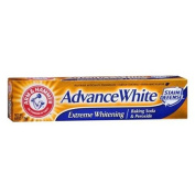 ARM & HAMMER Advance White Extreme Whitening with Stain Defence Toothpaste, 180ml