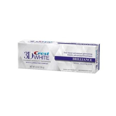 Crest 3D White Brilliance Toothpaste, Mesmerising Mint 120ml (Pack of 3)