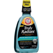 Arm & Hammer Truly Radiant Sparkling Mint Whitening & Strengthening Fluoride Rinse, 470ml