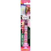 GUM Lalaloopsy Pillow FeatherBed Timer Light Toothbrush, Soft