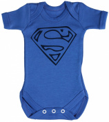 TRS - Super Man Baby Bodysuit / Babygrow 100% Cotton