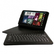 Visual Land 26cm IPS Quad Core Tablet 16GB includes Keyboard Case - Black