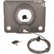 Urban Factory Anti-Theft Shell with Cable for Apple iPad, Black