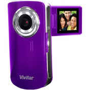 Sakar Vivitar Grape DVR620-GRP Compact Digital Video Camera