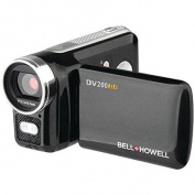Bell & Howell ELBDV200HDB Bell & Howell DV200HD Digital Camcorder, 1280 x 720p HD Video Resolution, 4x Digital Zoom