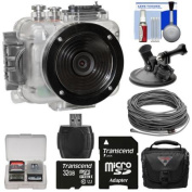 Intova Connex HD Waterproof Video Action Camera Camcorder with Video Cable (40m) + 32GB Card + Car Suction Cup Mount + Case + Kit