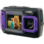 Coleman 2V9WP Duo2 Dual-Screen Waterproof 20MP Digital Camera, Purple