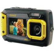 Coleman 2V9WP Duo2 Dual-Screen Waterproof 20MP Digital Camera, Yellow