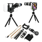 Binocular Telescope Camera Zoom Lens with Tripod Stand Holder for iPhone 4G 4S 5 5S 6 6 Plus