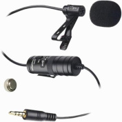 Vidpro Lavalier Condenser Microphone for DSLRs, Camcorders & Video Cameras 6.1m Audio Cable