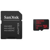 SanDisk Mobile Ultra microSDXC 128GB UHS-I Memory Card
