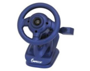 Impecca WC100B Wc100 Steering Wheel Webcam With Built-in Mic Blue