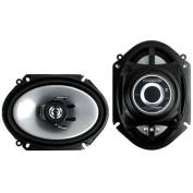 2) Kenwood KFC-C6865S 15cm x 20cm 250 Watt 2-Way Car Audio Coaxial Speakers Stereo