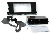 Scosche NN1673B 2013 and Up fits Nissan for Altima Double DIN or DIN with Pocket Instal Dash Kit, Black