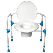BIG JOHN TOILET SUPPORT BJBC Bariatric Commode Chair, 360kg.