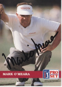 Mark OMeara Autographed Pro Set Golf Trading Card