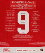 Career Jerseys Gordie Howe Limited Edition Autographed Career Jersey Detroit Red Wings