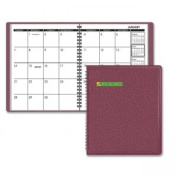 At-A-Glance 7012050 Monthly Planner 6.88 x 8.75 Winestone 2014