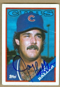 Autograph Warehouse 25223 Jay Baller Autographed Baseball Card Chicago Cubs 1987 Topps No. 717