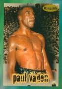 Autograph Warehouse 84423 Paul Vaden Card Boxing 1996 Ringside No .30