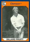 Autograph Warehouse 96809 Dillard Pruitt Golf Card Clemson 1990 Collegiate Collection No. 167