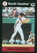 Autograph Warehouse 96891 Greg Morhardt Baseball Card South Carolina 1991 Collegiate Collection No. 51