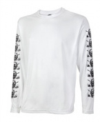 Tattoo Golf SS010-XW High Performance Long Sleeve Sport Shirt - White - X-Large