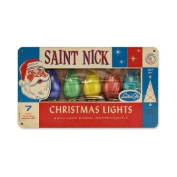 Past Time Signs RPC128 St Nick Lights Metal Sign
