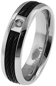 Doma Jewellery MAS03131-6 Stainless Steel Ring - Size 6