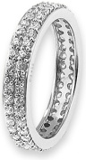 Doma Jewellery MAS02153-6 Sterling Silver Ring with CZ - Size 6