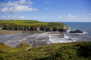 Panoramic Images PPI113900 Stradbally Strand The Copper Coast County Waterford Ireland Poster Print by Panoramic Images - 24 x 16