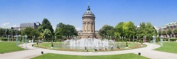 Panoramic Images PPI141614L Water tower in a park Wasserturm Mannheim Baden-Wurttemberg Germany Poster Print by Panoramic Images - 36 x 12