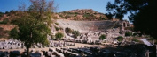 Panoramic Images PPI86435L Turkey Ephesus main theatre ruins Poster Print by Panoramic Images - 36 x 12