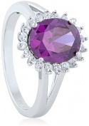 Doma Jewellery MAS09371-7 Sterling Silver Ring with Cubic Zirconia Size 7