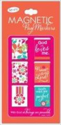 Christian Art Gifts 363473 Bookmark Pagemarker Magnetic All Things Are Possible Set Of 6